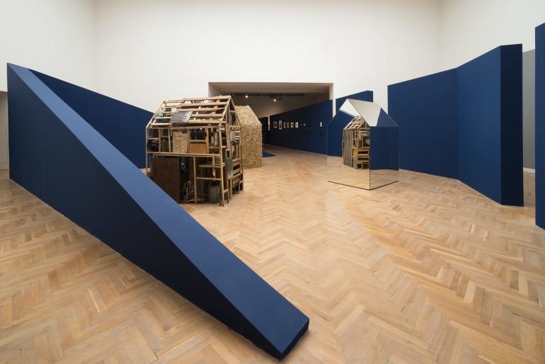 Tektonika paměti - instalace výstavy - Jan pfeiffer