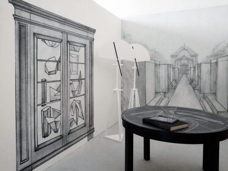 Instalace v Galerii 207 / Pfeiffer